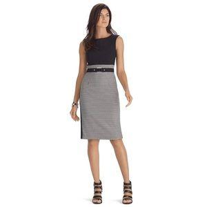 🌟SALE🌟WHBM Sleeveless Houndstooth Sheath Dress 4